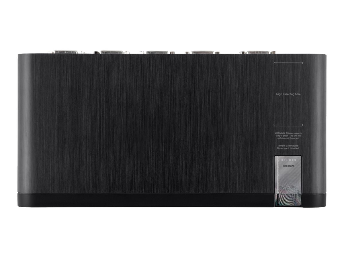 Belkin OmniView Secure 4-Port DVI-I KVM with Audio, F1DN104B