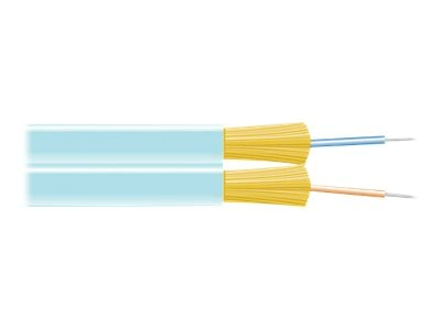 Black Box 2-Fiber 50 125 OM4 Multimode Bulk Fiber Optic Cable, FOBC55ZPM4AQ02F