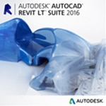 Autodesk Corp. AutoCAD Revit LT Suite 2016 Commercial New SLM ELD Annual Desktop Sub w Basic Support, 834H1-WW4127-T897-VC, 19963376, Software - CAD
