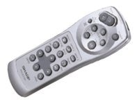Sharp Remote for PG-M20X a s, RRMCGA013WJSA, 4863073, Remote Controls - Presentation
