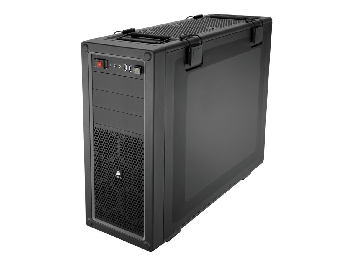 Corsair Chassis, Vengeance Series C70 High Airflow Mid Tower, ATX, 3x5.25, 6x2.5 3.5, 8xSlots, Black