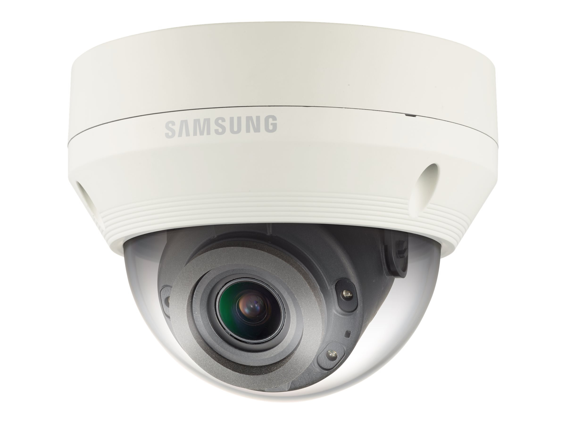 Samsung 2MP Vandal-Resistant Full HD Network IR Dome Camera with 2.8-12mm Lens