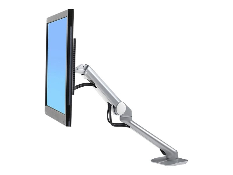 Ergotron MX Mini Desk Mount Arm, Polished Aluminum, 45-436-026, 31796048, Stands & Mounts - AV