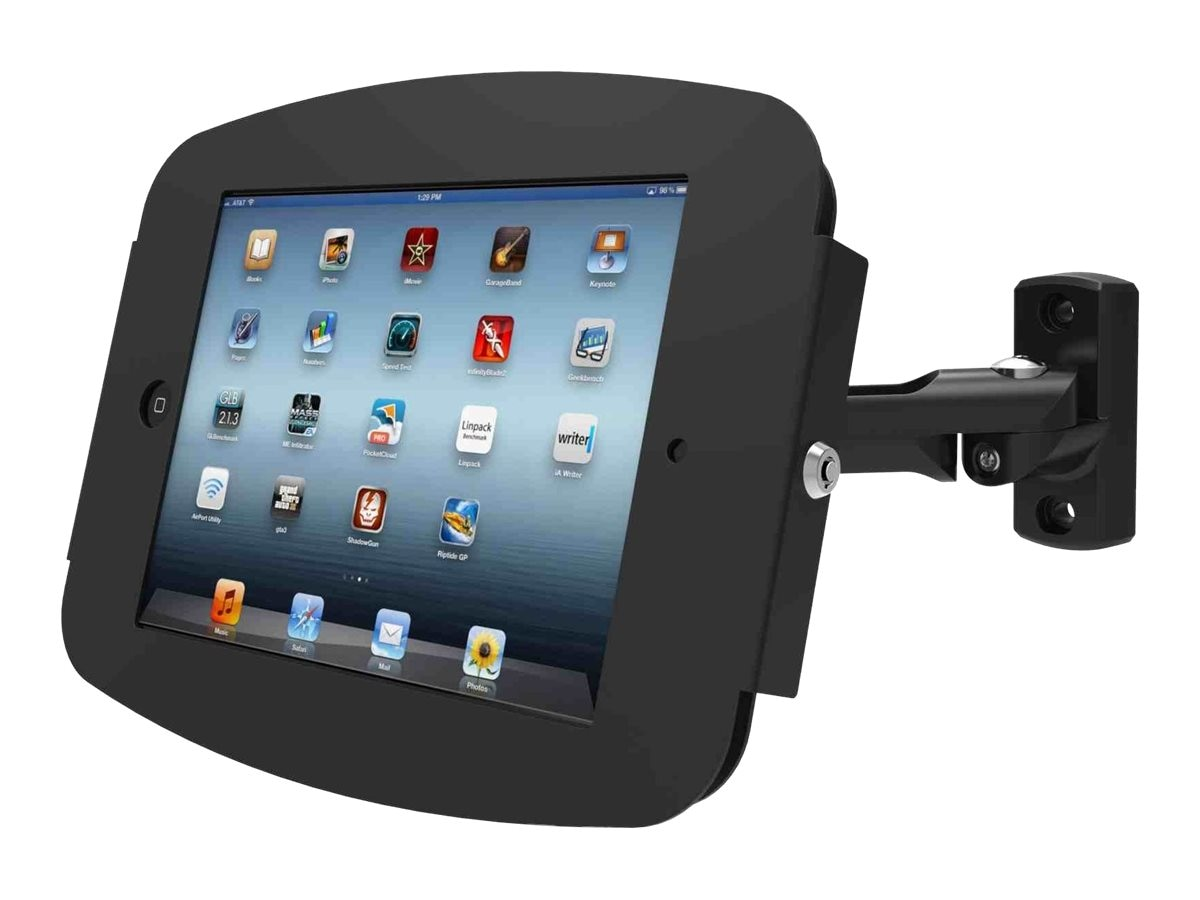 Open Box Compulocks Space Reach iPad Pro Swing Arm Mount, Black, 827B290SENB