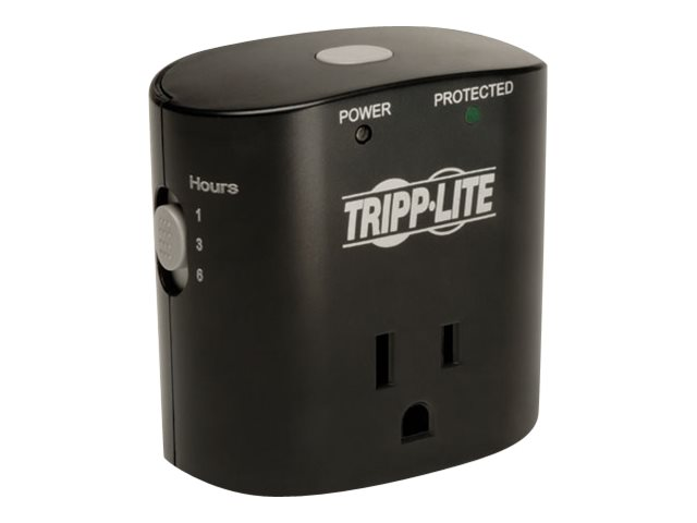 Tripp Lite Surge Protector Timer Wallmount Direct Plug-In 350 Joules (1) 5-15R Outlet, SK10TG, 15934922, Surge Suppressors