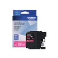 Brother Magenta LC103M Innobella High Yield (XL Series) Ink Cartridge for the MFC-J4510DW, LC103M, 14714872, Ink Cartridges & Ink Refill Kits