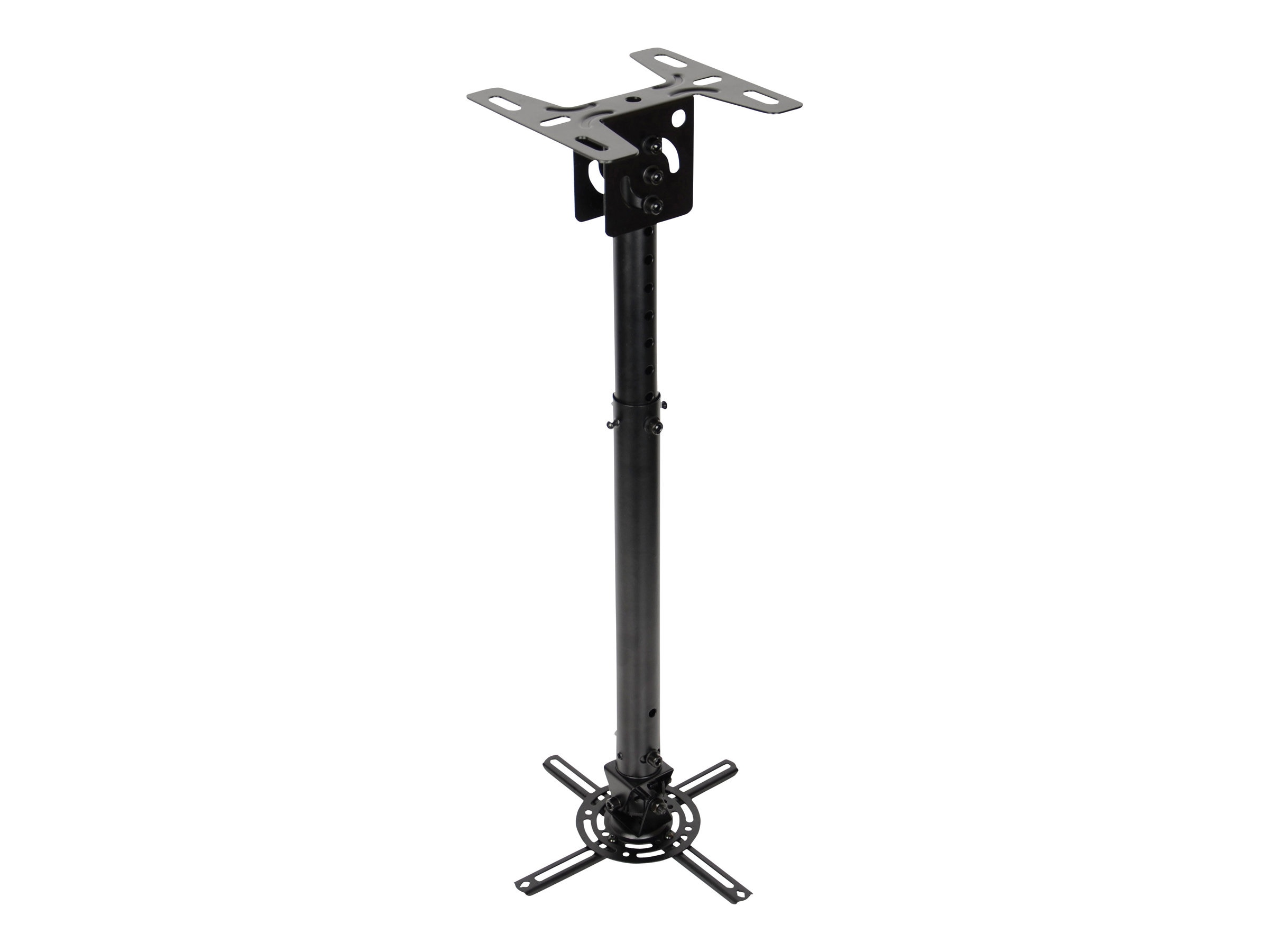 Optoma Universal Projector Pole Mount for Projectors up to 33 pounds, Black, OCM815B, 19801810, Stands & Mounts - AV