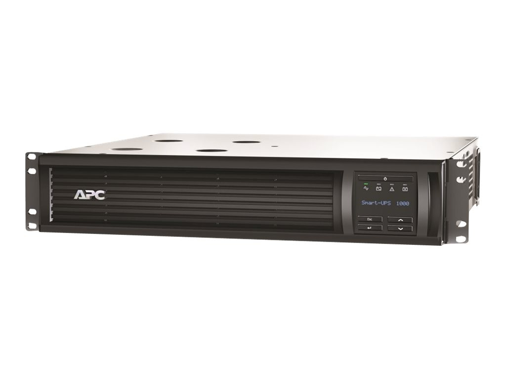 APC Smart-UPS 1000VA 120V LCD 2U Rackmount UPS, EXCLUSIVE Buy - Save $30, SMT1000RM2U