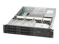 Supermicro SuperChassis 823TQ 2U Chassis, Black
