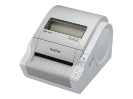 Brother TD-4100N Desktop Bar Code Network Printer, TD4100N, 11715491, Printers - Bar Code
