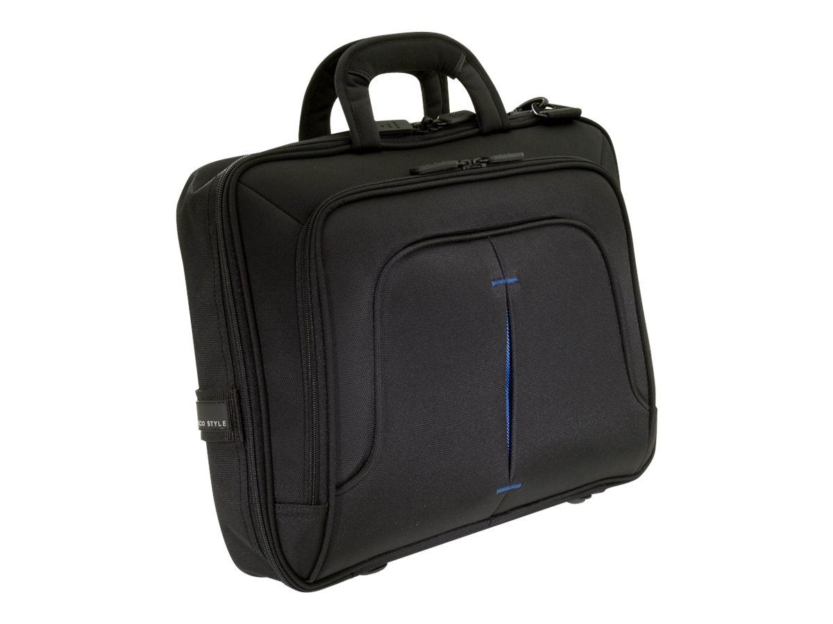 Eco Style Tech Pro Slim TopLoad Case, Blue, Checkpoint Friendly, ETPR-BL14-CF