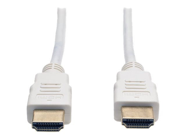Tripp Lite Ultra HD 4Kx2K High Speed HDMI M M Digital Video Cable with Audio, White, 6ft, P568-006-WH, 17846272, Cables