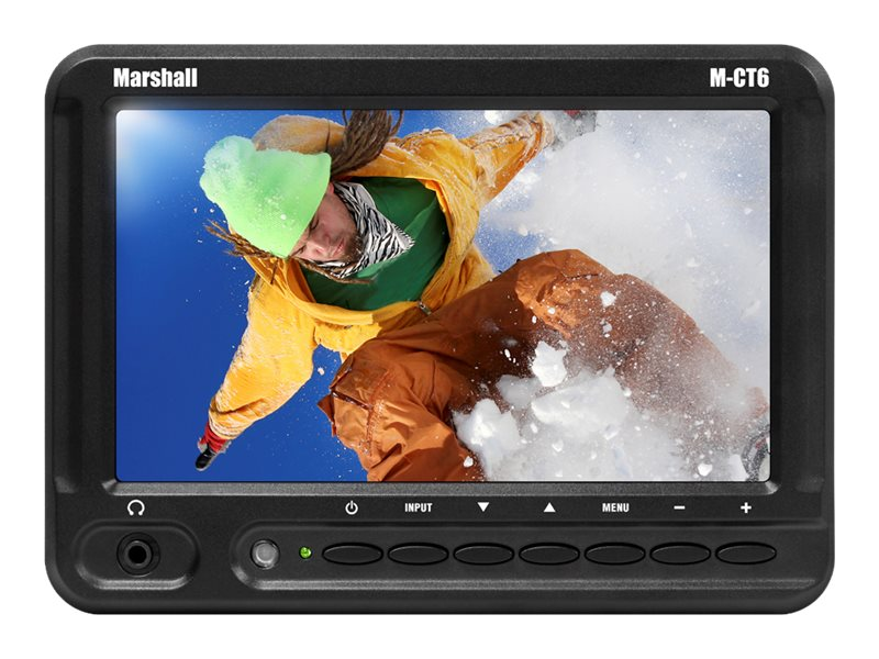 Marshall Electronics 6.2 M-CT6-AA TFT Camera-Top Monitor, M-CT6-AA