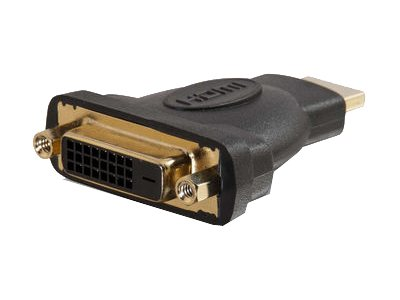 C2G HDMI to DVI (M-F) Adapter, Black, 40745, 14294513, Adapters & Port Converters