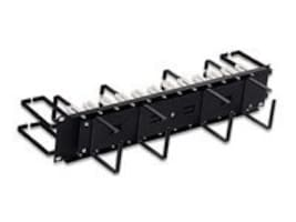 Leviton Rear And Front Horizontal Patch Cord Organizer, 49252-PCM, 16928479, Patch Panels