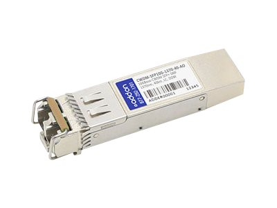 ACP-EP SFP+ 40KM CWDM 1370 LC Cisco Compatible Transceiver, CWDM-SFP10G-137040AO, 26687816, Network Transceivers