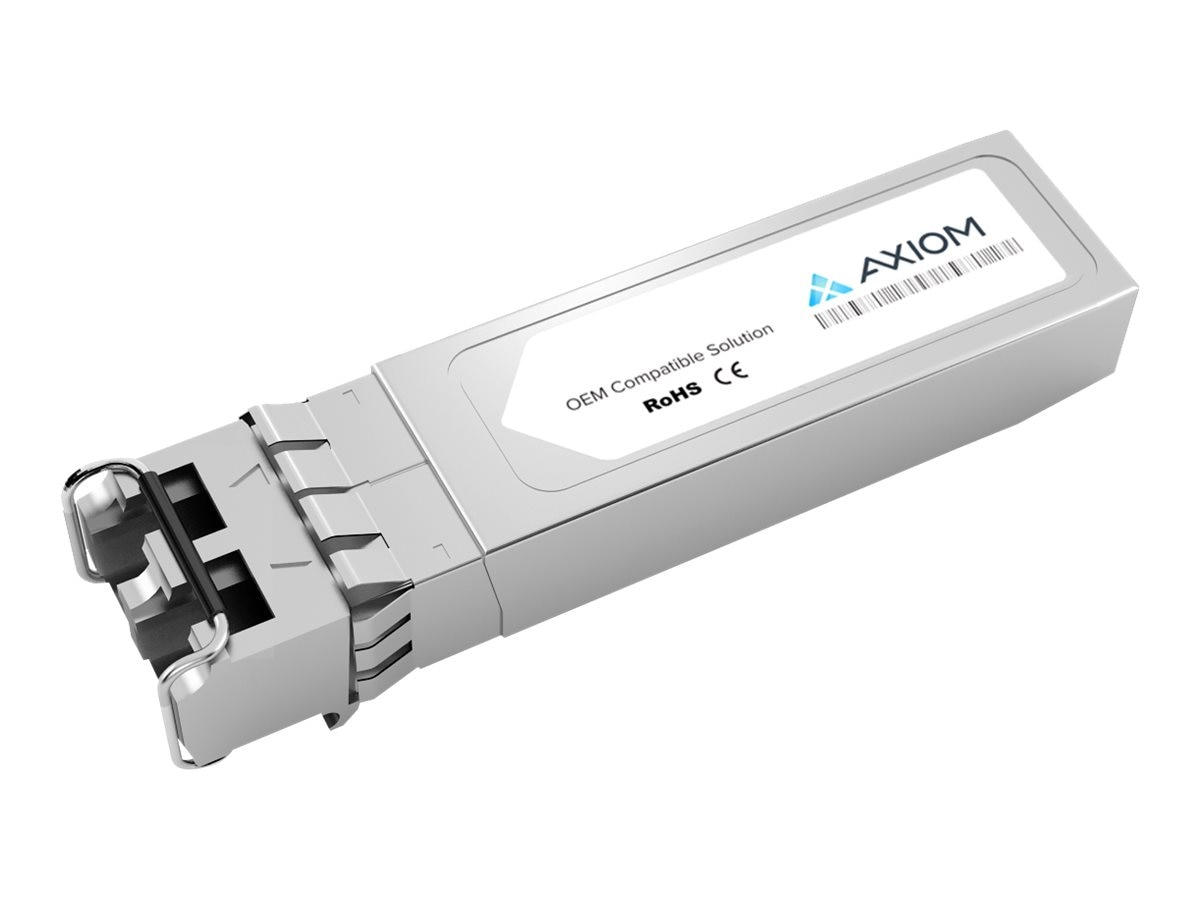 Axiom 10GBASE-SR SFP+  Transceiver For Brocade - 10G-SFPP-SR - TAA Compliant