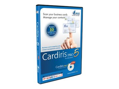 IRIS CardIris Pro 5.0, 456819, 13311060, Software - OCR & Scanner