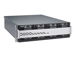 Thecus Tech W12000 2U RM Windows Server Xeon QC E3-1225 3.1GHz 8GB 16x2.5 SATA3 WSS 2008R2 SE, W16000, 14258416, Servers
