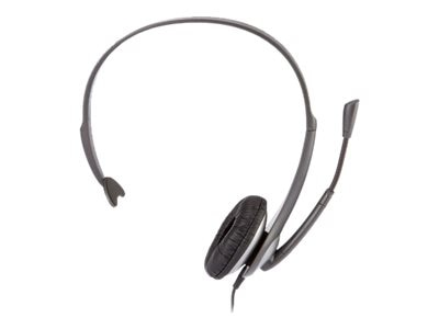 Cyber Acoustics AC-104 Mono Headset with Boom Mic, AC-104