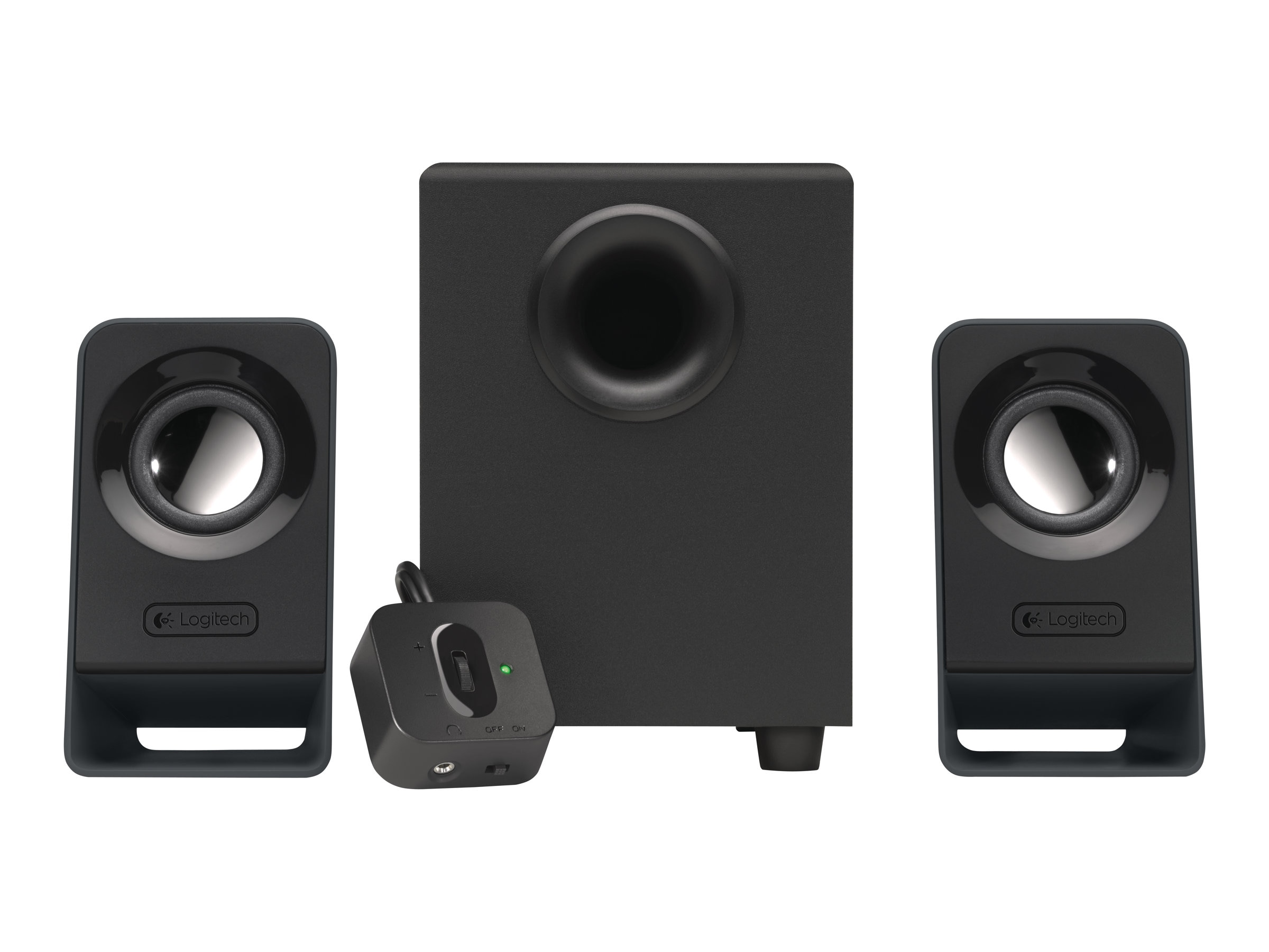 Logitech Z213 2.1 Desktop Speakers, 980-000941