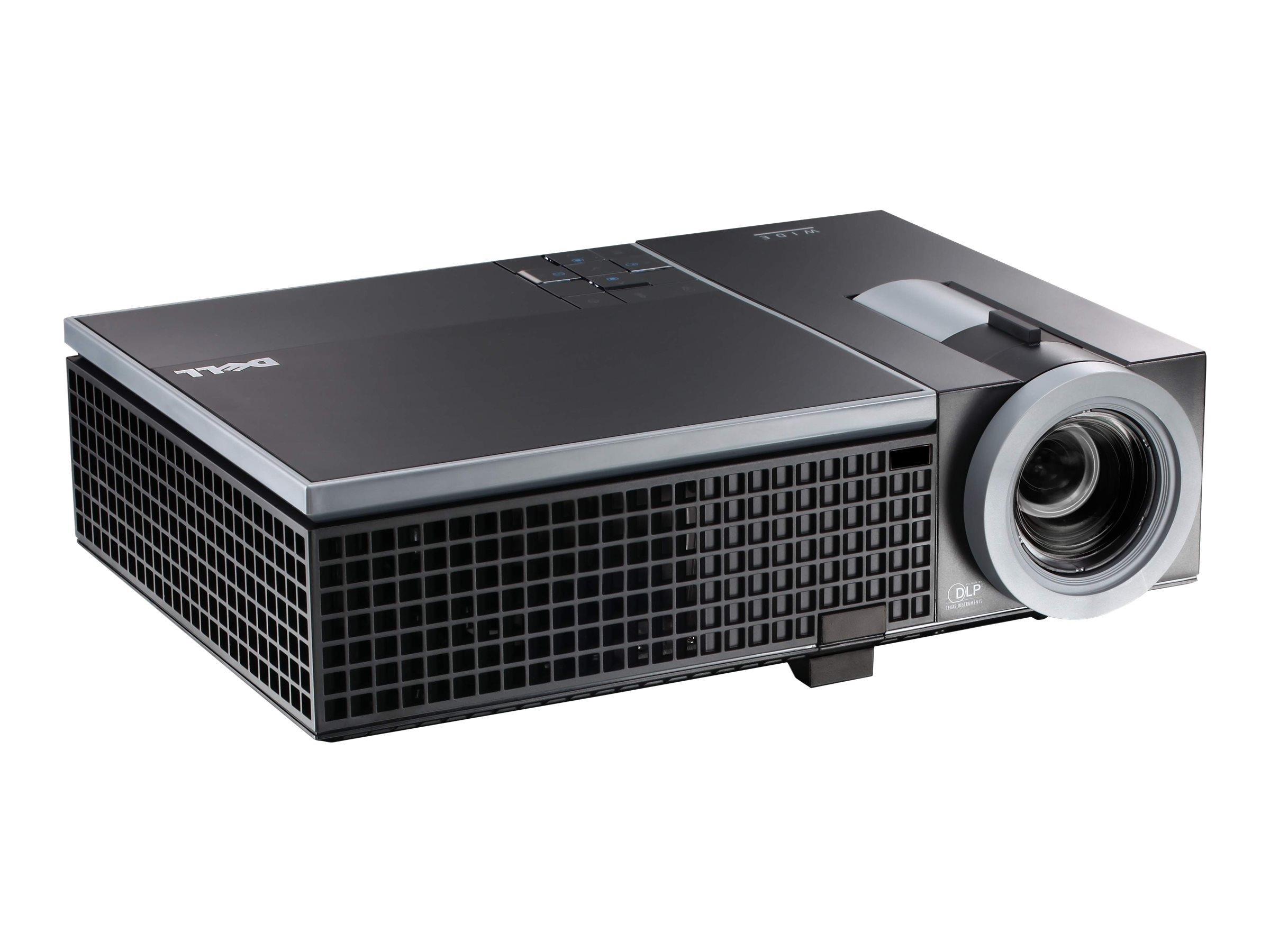 Dell 1610HD WXGA DLP Projector, 3500 Lumens, Black, 1610HD, 11937763, Projectors