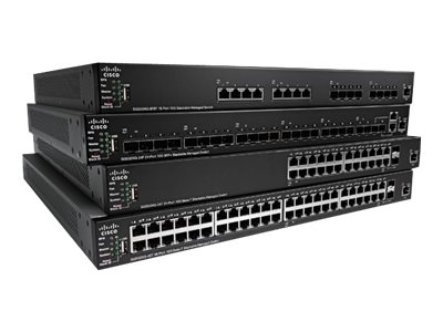 Cisco SG350X 24 Port Stackable Switch, SG350X-24P-K9-NA