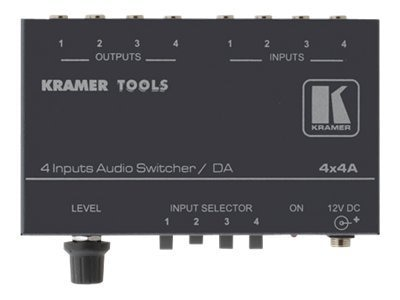 Kramer 4x1 Audio Switcher 1:4 Audio