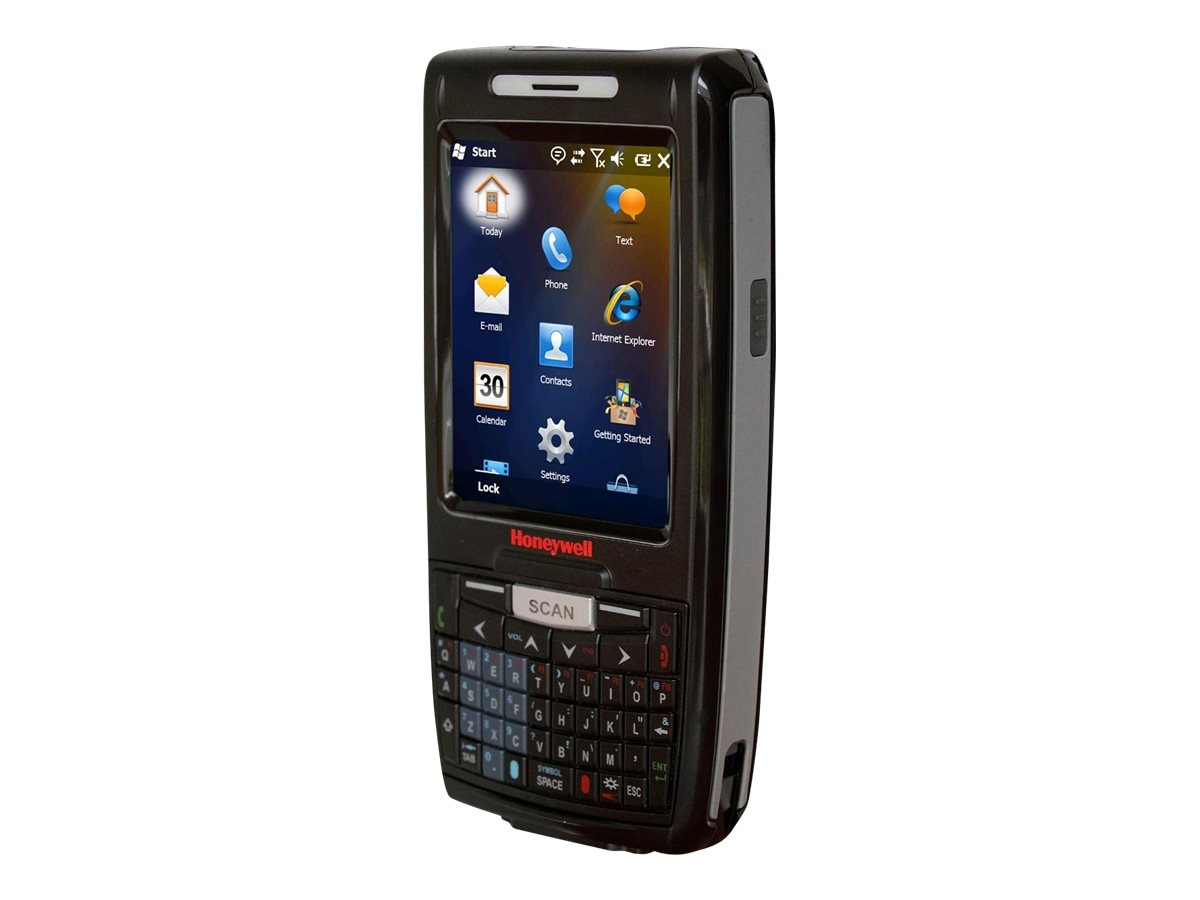 Honeywell Dolphin 7800 802.11abgn BT Numeric Keyboard Camera Std Range Extended Battery Android OS, 7800L0N-0C243XE