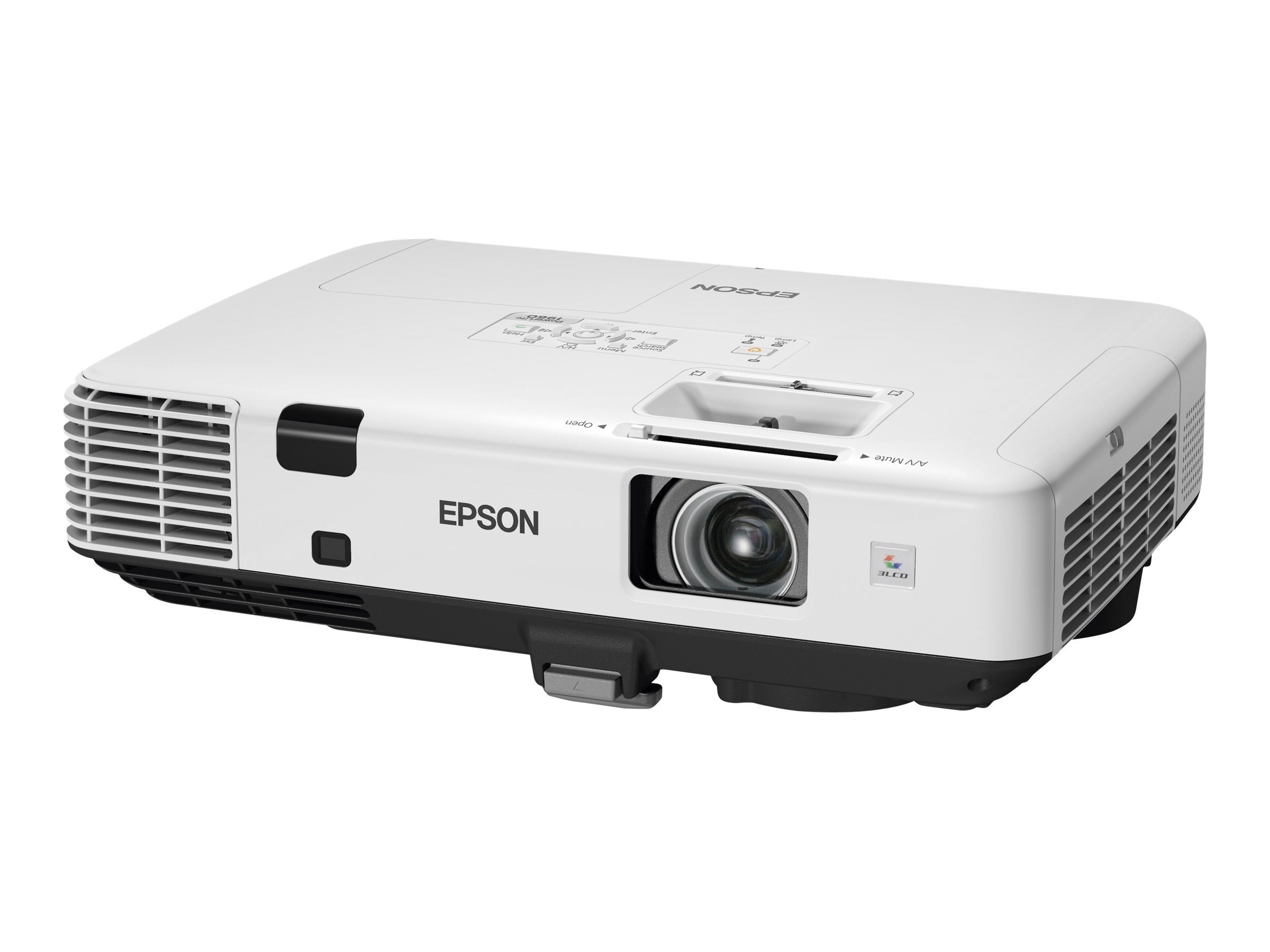 Epson Powerlite 1960 XGA 3LCD Projector, 5000 Lumens, White, V11H473020, 13881695, Projectors