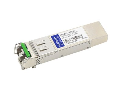 ACP-EP Dell 10GBase-CWDM SFP+ Transceiver, TAA, 430-4585-CW55-AO, 30582718, Network Transceivers
