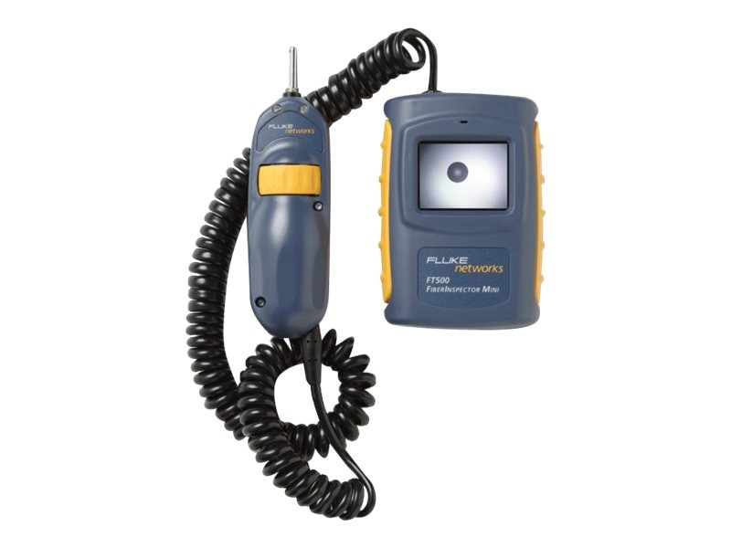 Fluke Fiberinspector Mini and Cleaning Kit, FT525, 8107814, Network Test Equipment