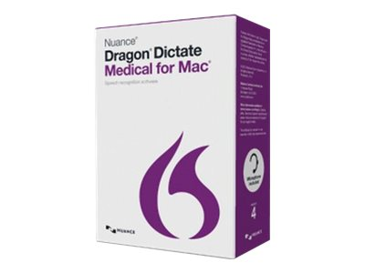 Nuance Corp. Dragon Dictate 4.0 Medical for Mac