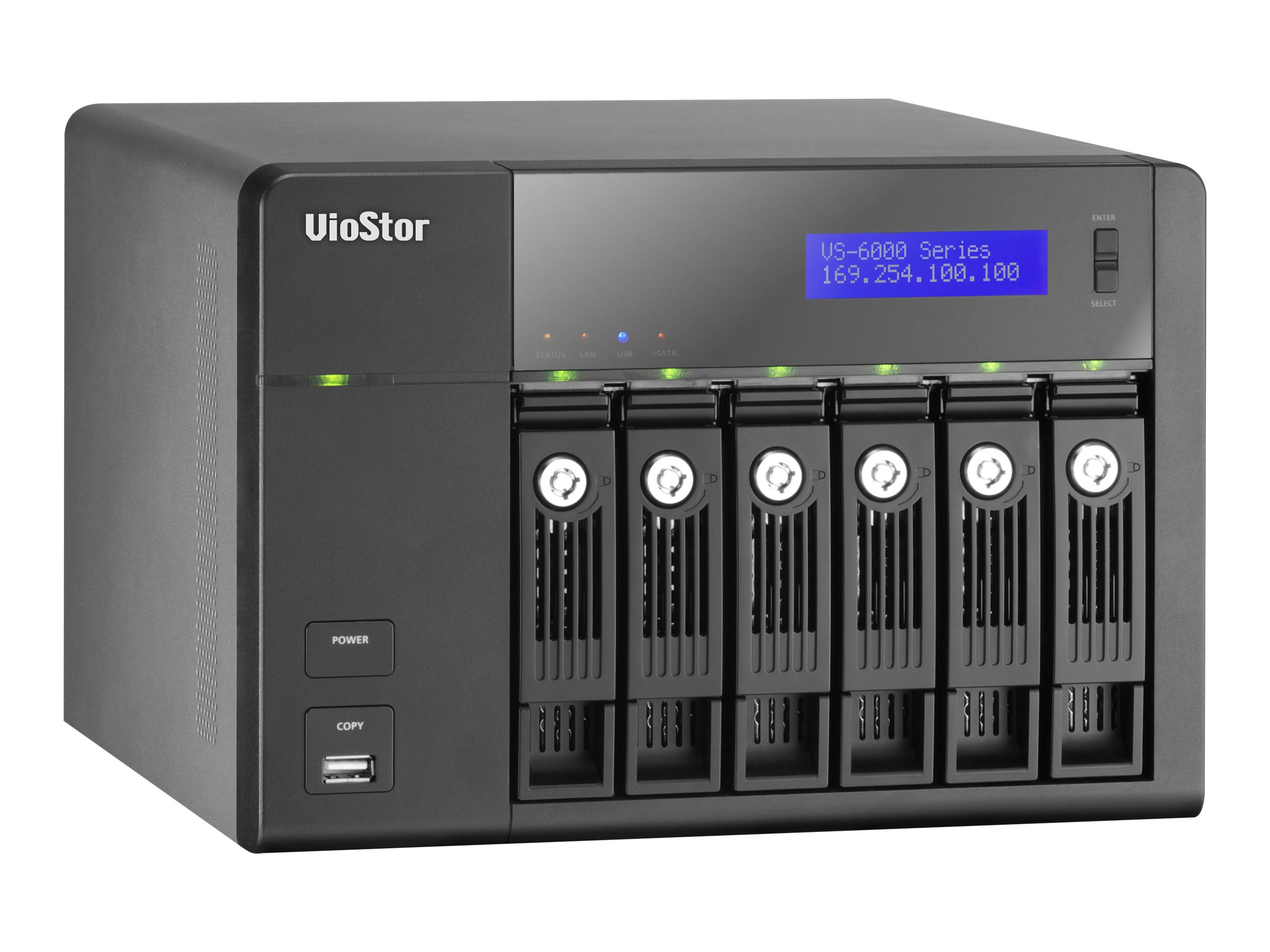 Qnap 16-Channel Survellance NVR, 6-Bay, VS-6116-PRO+-US, 15288975, Video Capture Hardware