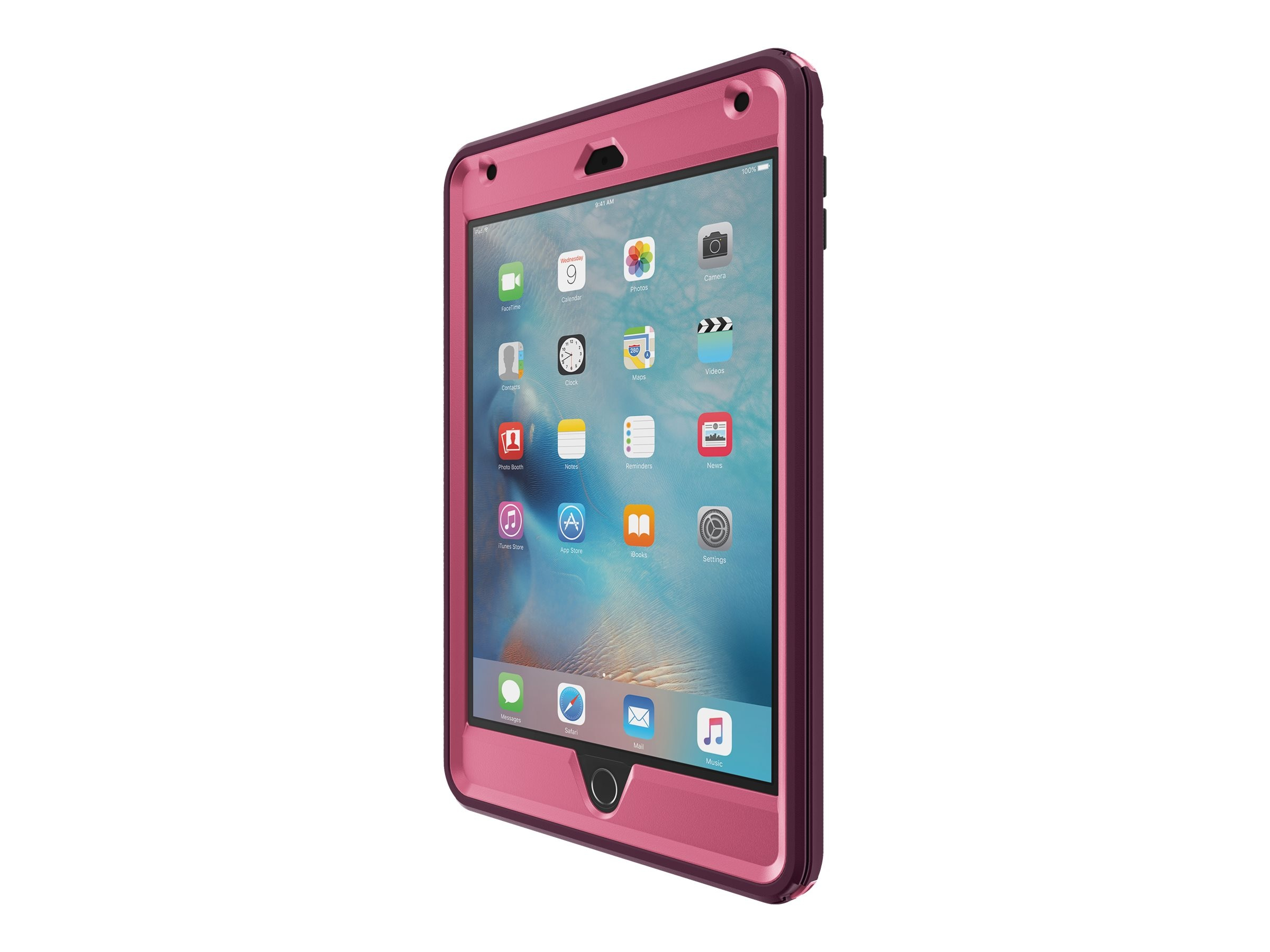 OtterBox Defender Case for iPad mini 4, Very Berry