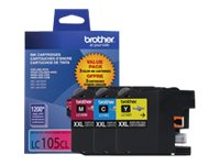 Brother Innobella Super High Yield (XXL Series) Color Ink Cartridges for MFC-J4510DW (Cyan, Magenta & Yellow, LC1053PKS, 14714784, Ink Cartridges & Ink Refill Kits