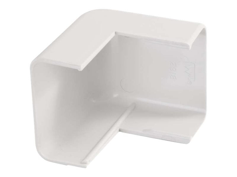 C2G Wiremold Uniduct 2900 External Elbow, White, 16068, 18016131, Cable Accessories