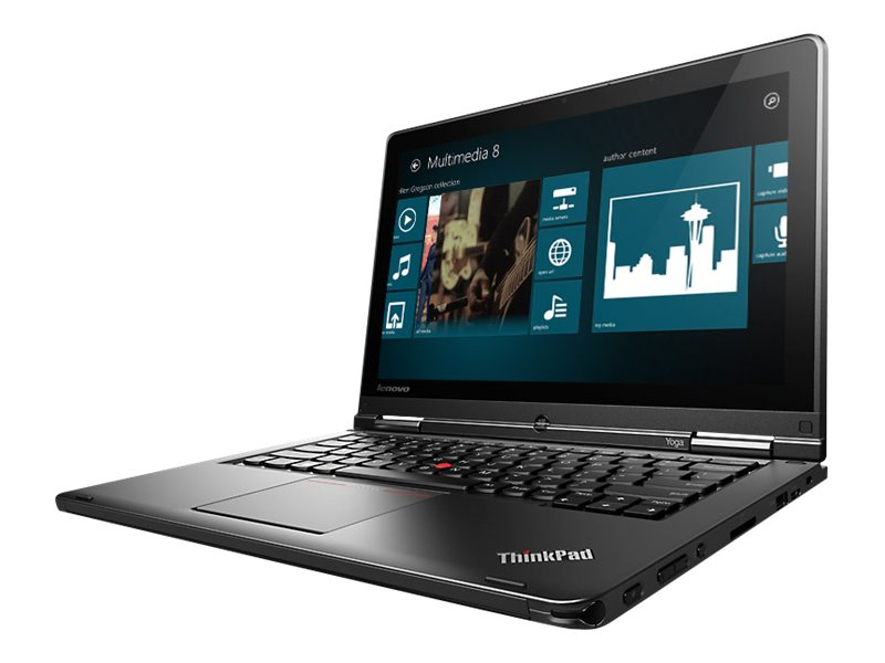 Lenovo ThinkPad S1 Yoga Core i5-4300U 1.9GHz 8GB 500GB+16GB ac BT WC Pen 8C 12.5 FHD AG W8.1P64, 20C0003WUS, 16812919, Notebooks - Convertible