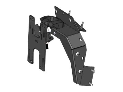 Havis Dash Mount Bracket Kit for 2015-2016 Dodge Charger Pursuit, C-DMM-2004