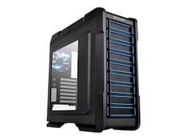 Thermaltake Chassis, Chaser A31 Mid Tower ATX Gaming Case, Black, VP300A1W2N, 15500163, Cases - Systems/Servers