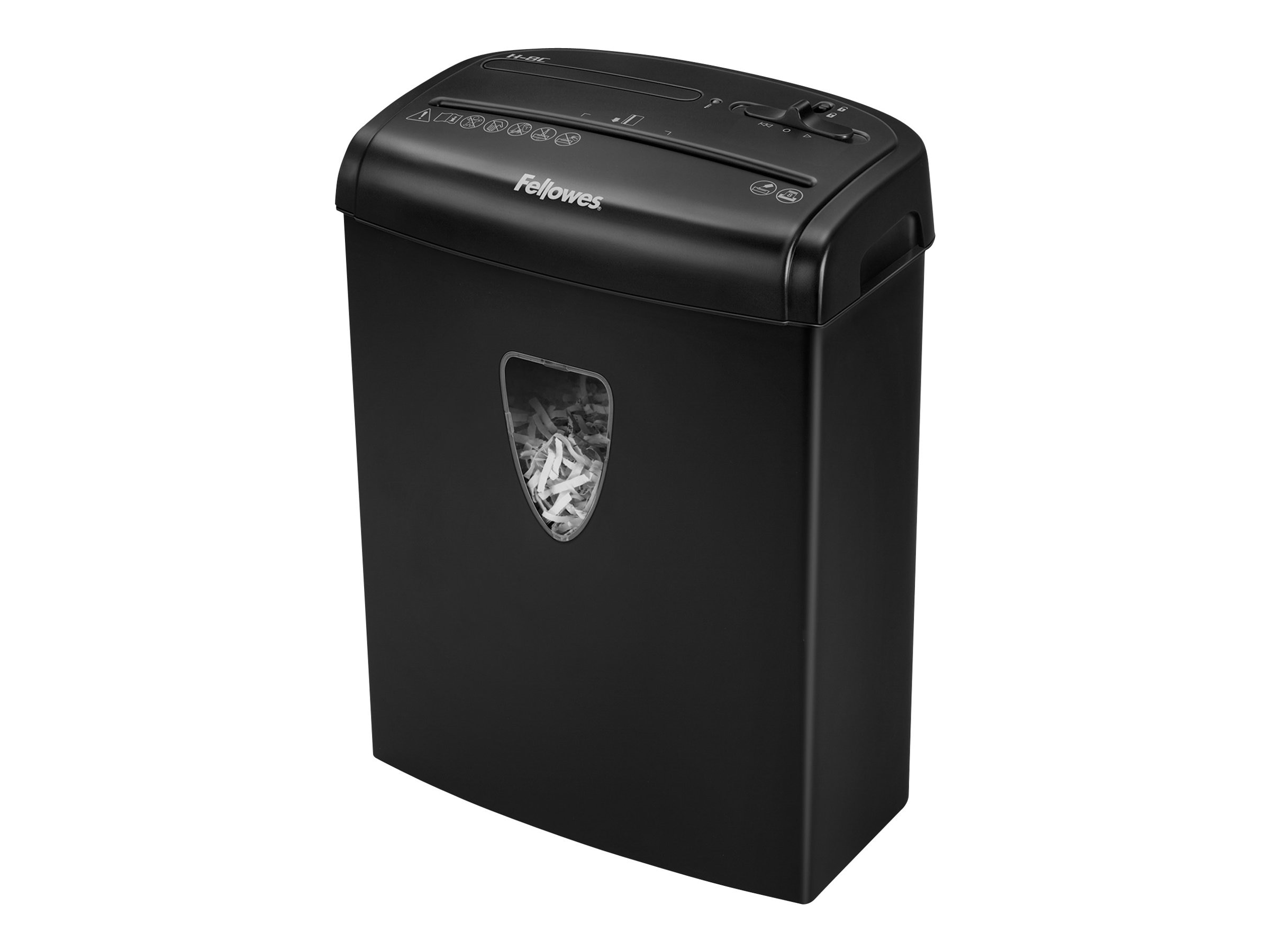 Fellowes H 8C Cross Cut Shredder - 8-Sheet