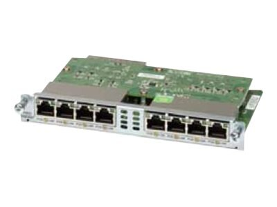 Refurb. Cisco Refurb. 8-port Controller 10 100 1000 ENET SW, Cisco Warranty, EHWIC-D-8ESG-RF