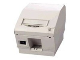 Star Micronics TSP743IID Thermal Friction Serial 2-Color Printer - Gray w  Cutter & Power Supply, 39442310, 11644418, Printers - POS Receipt