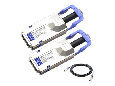 ACP-EP 10GBase-CX CX4 to CX4 Direct Attach Passive Twinax Cable for Force10, 5m
