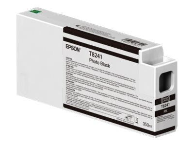 Epson Photo Black Ultrachrome HDX 350ml Ink Cartridge for SureColor 6000, 7000, 8000 & 9000 Printer, T824100