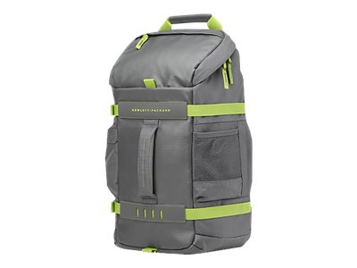HP 15.6 Odyssey Grey Green Bag, L8J89AA#ABL, 30840158, Carrying Cases - Notebook