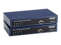 Black Box 4-port T1 E1 Ethernet Network Extender, K