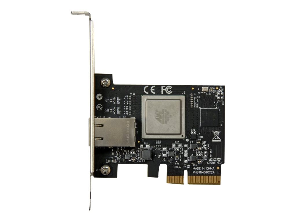 StarTech.com 1-Port PCI Express 10 Gigabit Ethernet Network Card, ST10000SPEX