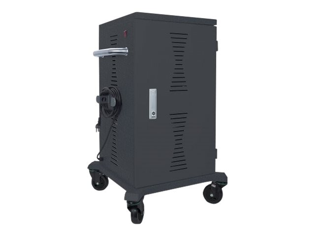 Intellinet 36-Bay Charging Cart w Casters