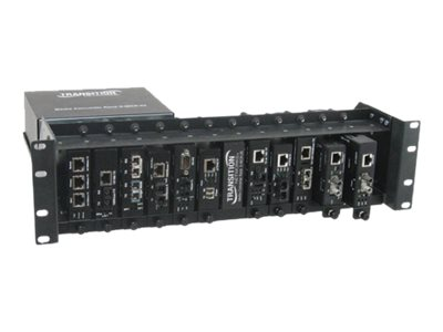 Transition 12-Slot Media Converter Rack European Union